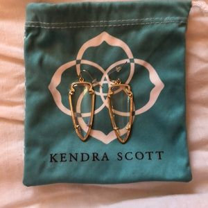 Kendra Scott Clear Earrings